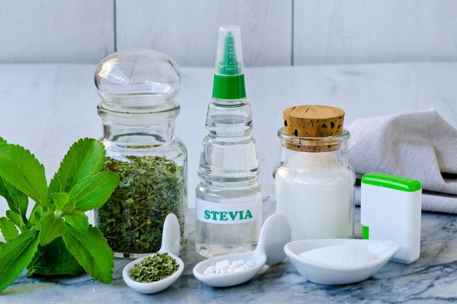 What are the different forms of stevia?