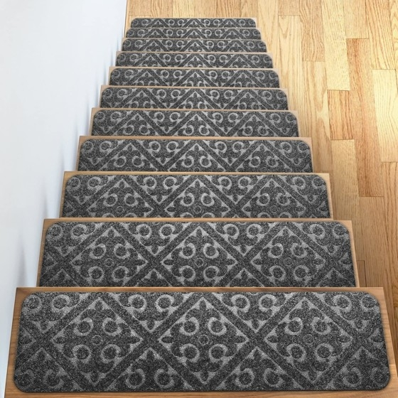 Best Carpet For Stairs In 2020 Best Carpet For Stairs In 2020 | Best Patterned Carpet For Stairs | Modern | Foyer | Vintage | Stair Triangular Landing | Well Fitted