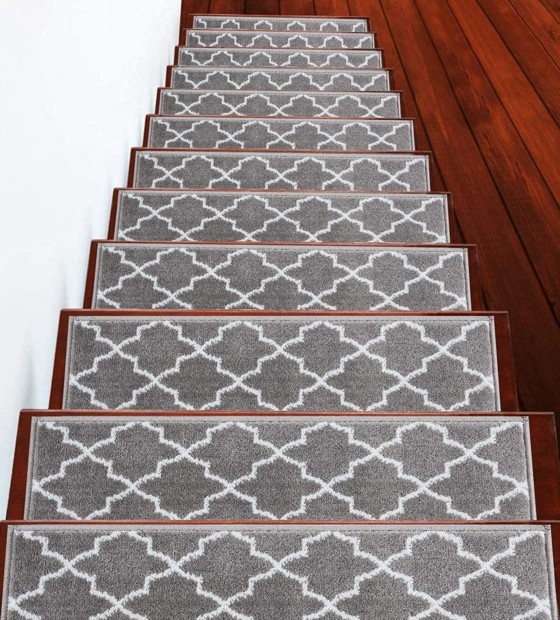 Best Carpet For Stairs In 2020 Best Carpet For Stairs In 2020 | 8 Inch Carpet Stair Treads | Wooden Stairs | Bullnose Carpet | Skid Resistant | Non Skid | Non Slip Stair