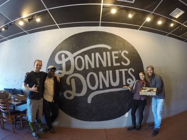 Donnie's Donuts with friends