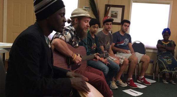 Youth concert at the Tucson Baha'i Center in Tucson, Arizona