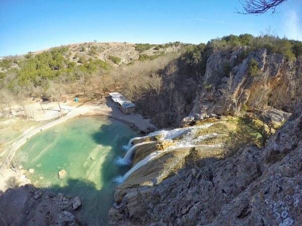 Turner Falls in Oklahoma