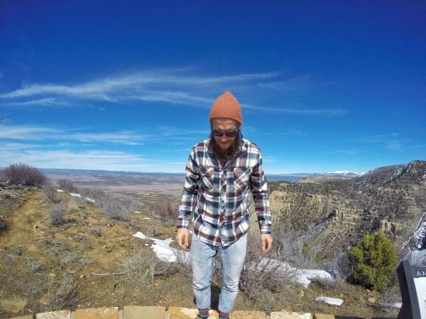 view from mesa verde national park colorado rockies