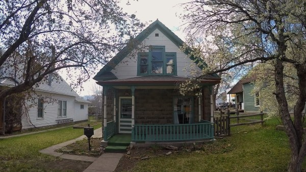 Photo of a home in Livingston, Montana.