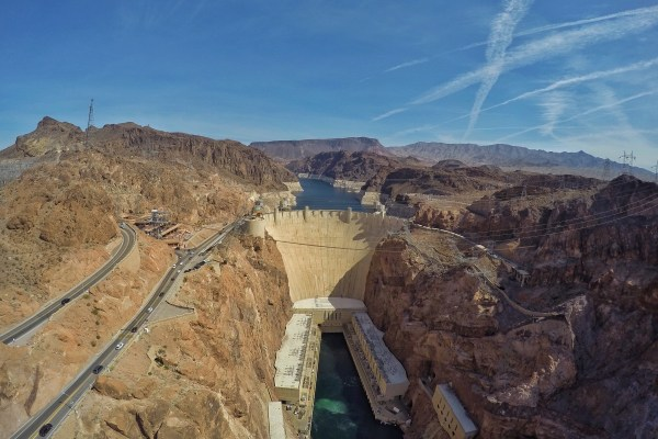 Photo of the Hoover Dam in Las Vegas, Nevada