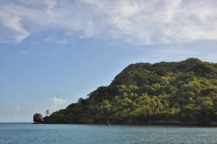 Photo of santa catalina island in providencia with morgans head