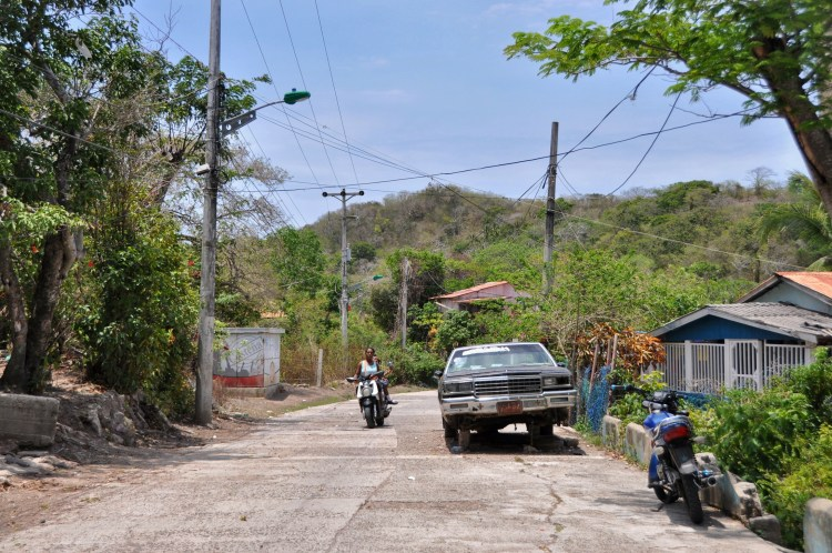 photo of a street in providencia, colombia by stevie vagabond