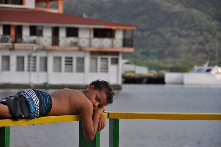 photo of a local Colombian boy in Providencia