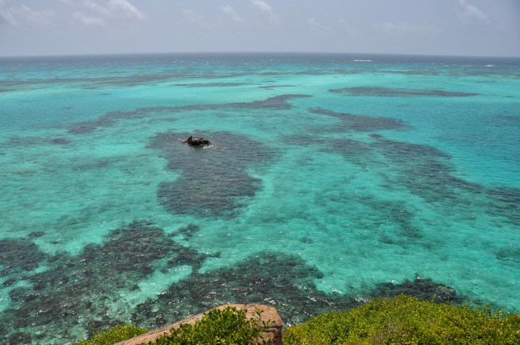 Photo of reefs off of Cayo Cangrejo, Colombia