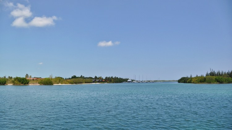 Photo of the marina in Cayo Largo