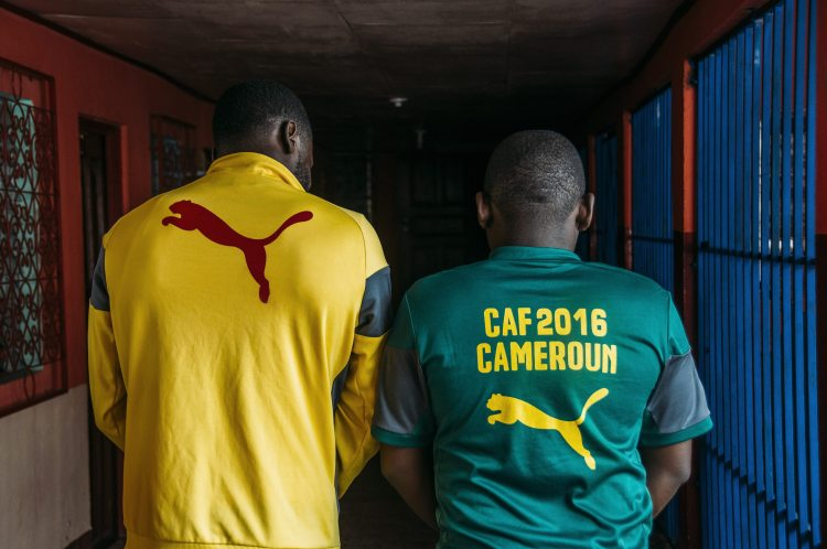 Photo of Cameroonians representing their Cameroon National Team