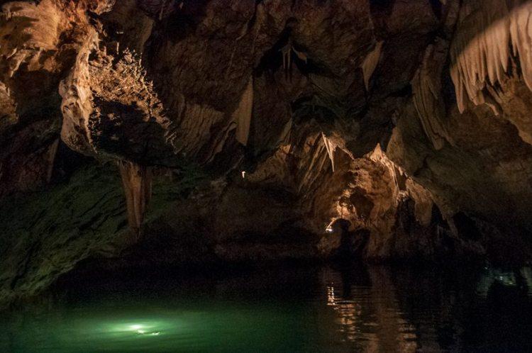 punkva caves in czech republic