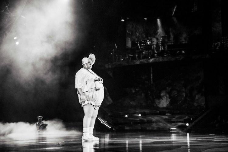 Performer in Cirque du Soleil Mystere at Treasure Island in Las Vegas. Photo by Stevie Vagabond.