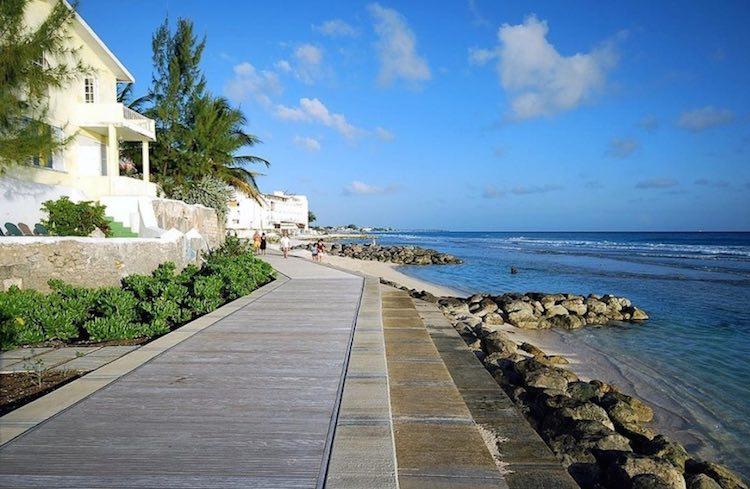 Boardwalk, Worthing, Barbados
