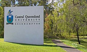 Signage for Central Queensland University Rockhampton Campus