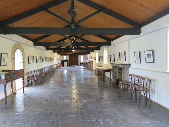 The Long Gallery at Montsalvat