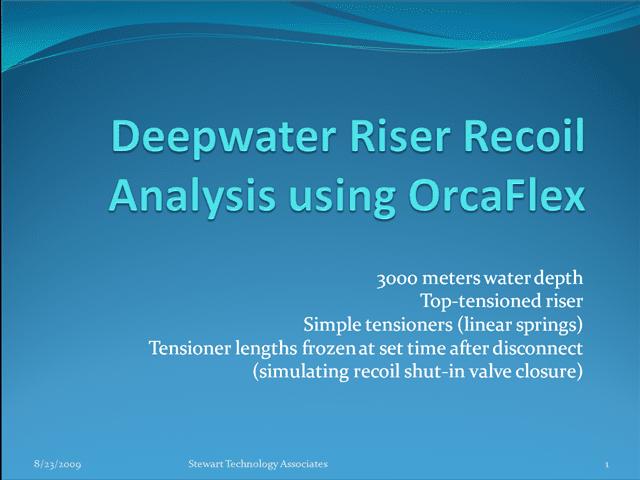 6 Ways Riser Analysis Can Improve Riser Design