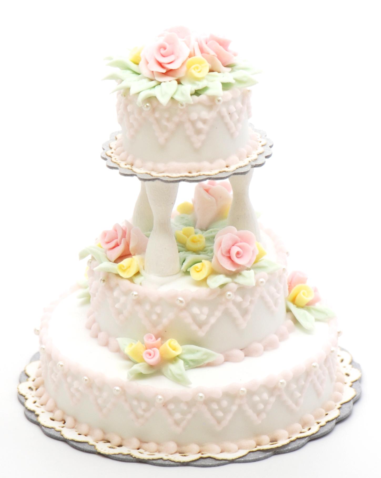 Victorian Wedding Cake Stewart Dollhouse Creations