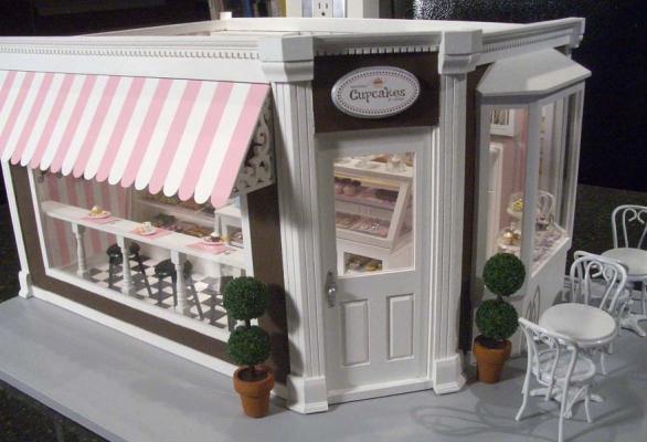 Cupcake Shop 1 Stewart Dollhouse Creations