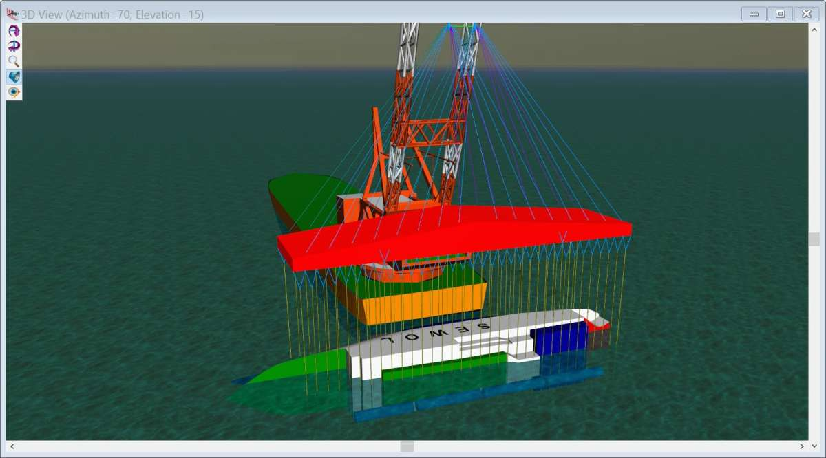 Marine Salvage Dynamics, Heavy Lifts