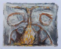 """Maw"", sketchbook monprint, £35"