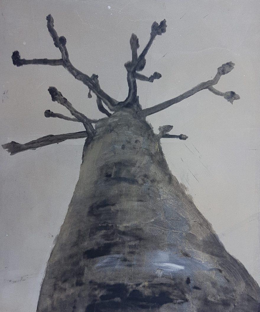 Stump #51, Monoprint, 36cm x 30cm, £70