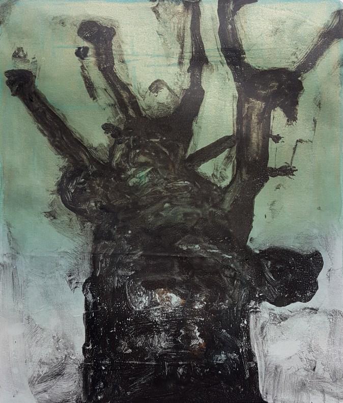 Stump #115, Monoprint, 36cm x 30cm, £120