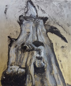 Stump #123, Monoprint, 36cm x 30cm, £120