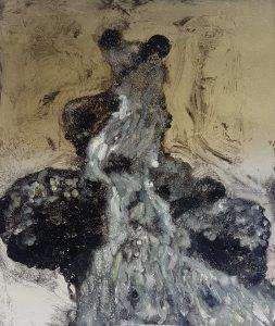 Stump #136 [burred giant I], Monoprint, 36cm x 30cm