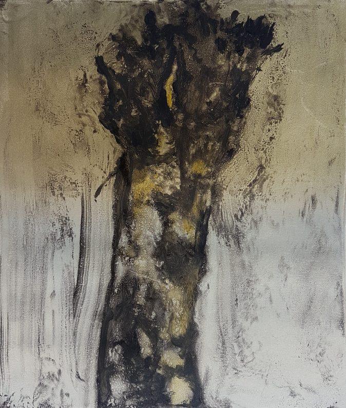 Stump #134, Monoprint, 36cm x 30cm, £120