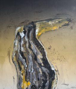 Stump #182, Monoprint, 36cm x 30cm, £120