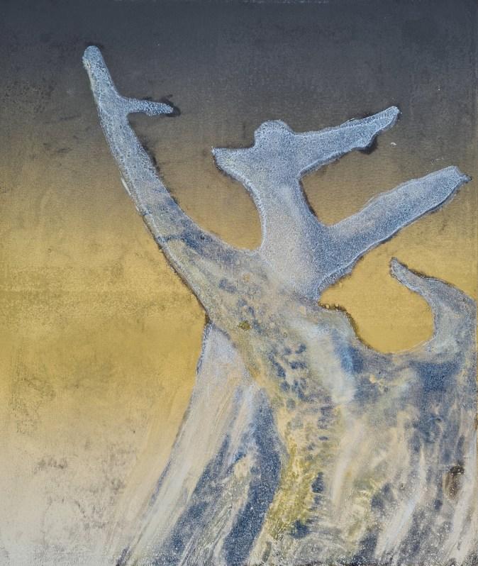 Stump #191 (Ghost), Monoprint, 36cm x 30cm, £120