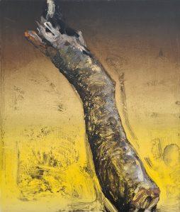 Stump #198 (Felled), Monoprint, 36cm x 30cm, £120