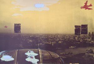 'Past', Silkscreen, 2000, 81cm x 152cm, £800 uf, 1 Edition of 10