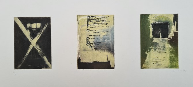 Untitled (#4 [garage], postgrad '94), Photoetching, AP, Edition 1, £110