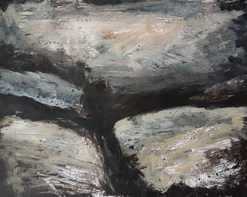 Empty Landscape VI, Monoprint, 32cm x 24cm