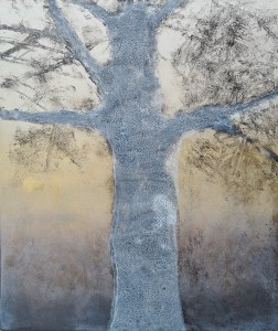 Ojai #12 (Ghost), Monoprint, 30cm x 36cm