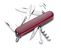 a swiss style army multi tool knife isolated on white with clipping path
