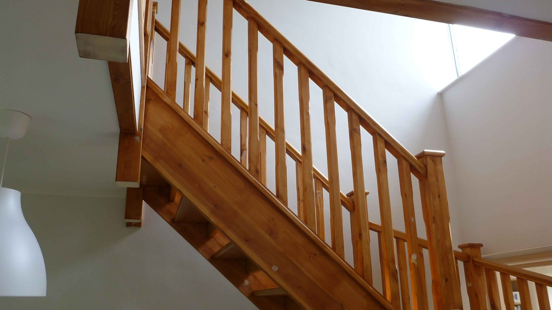 Staircase Stewkley Decorating