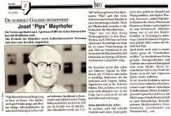 1992-03-27 - Josef Pips Mayrhofer