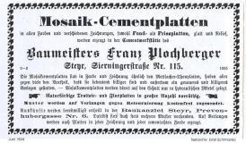 1894.Werbung.Plochberger