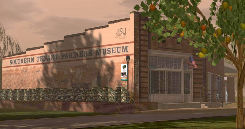 Southern Tenant Farmers Museum (Second Life Model)