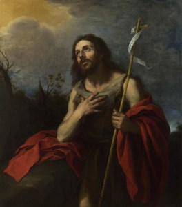 Full title: Saint John the Baptist in the Wilderness Artist: Attributed to Bartolomé Esteban Murillo Date made: 1660-70 Source: http://www.nationalgalleryimages.co.uk/ Contact: picture.library@nationalgallery.co.uk Copyright © The National Gallery, London