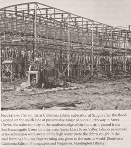 Southern California Edison Saugus Substation