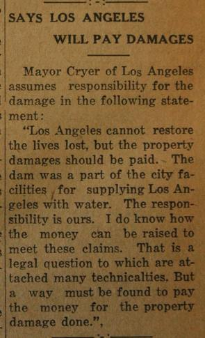 From the Fillmore American, Thursday, March 15, 1928, page 5