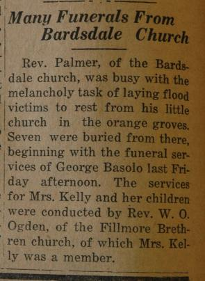 From the Fillmore American, Thursday, March 22, 1928, page 4