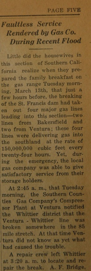 From the Fillmore American, Thursday, March 22, 1928, page 5