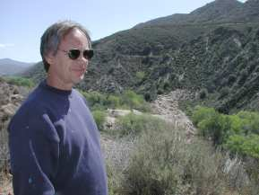 Frank Rock at the St. Francis Dam site.