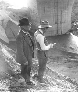Mulholland at the St. Francis Dam