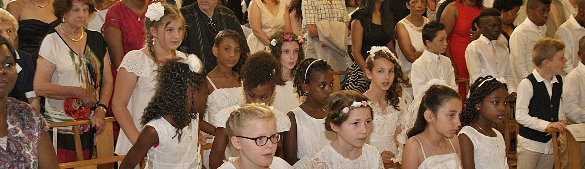 Les premières communions